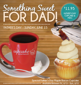 Fathers Day Cupcake Downsouth