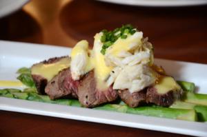 Halls Chophouse Steak & Crab Salad